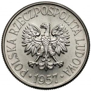 Próba NIKIEL 50 groszy 1957
