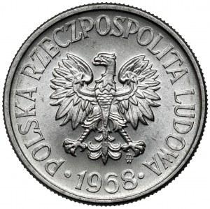 50 groszy 1968 - rzadki rok - piękny