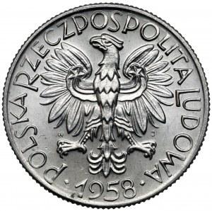 Rybak 5 złotych 1958 - BAŁWANEK