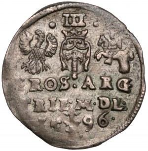 Zygmunt III Waza, Trojak Wilno 1596 - Prus