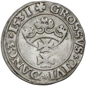 Zygmunt I Stary, Grosz Gdańsk 1531