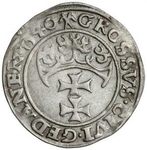 Zygmunt I Stary, Grosz Gdańsk 1540 - PRVS