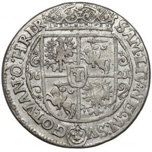 Zygmunt III Waza, Ort Bydgoszcz 1621 - gwiazdki na Rw.