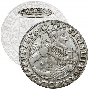 Zygmunt III Waza, Ort Bydgoszcz 1623 - PRVS M - nieopisana korona