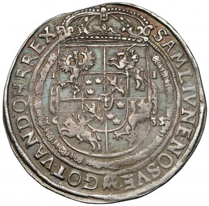 Wadysław IV Waza, Talar Bydgoszcz 1635 II - rzadki