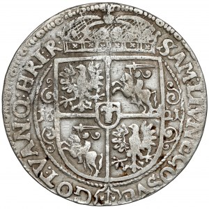 Zygmunt III Waza, Ort Bydgoszcz 1621 - (16) - zawinięte labry