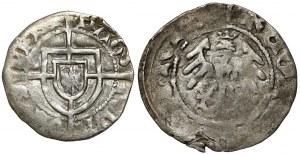 Władysław II Jagiełło, Półgrosz Kraków i Szeląg Zakonu Krzyżackiego (2szt)