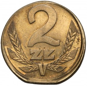 Destrukt 2 złote 1980 - offcenter + końcówka krążka