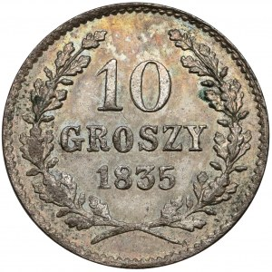 Wolne Miasto Kraków, 10 groszy 1835