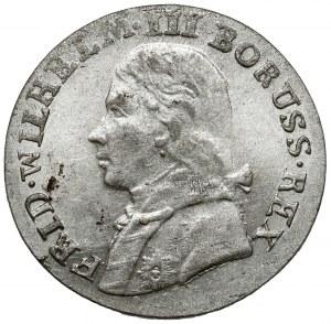 Preussen, Friedrich Wilhelm III, 3 gröscher 1806-A, Berlin