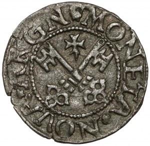 Wolne Miasto Ryga, Szeląg ryski 1563 - rzadki