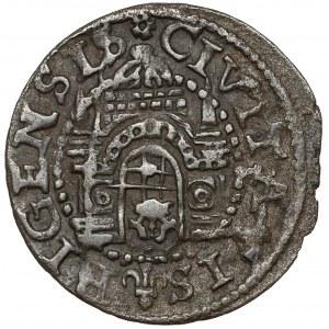 Wolne Miasto Ryga, Szeląg 1578 - odwrócona data - RZADKI