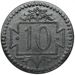 Gdańsk, 10 fenigów 1920 cynk - 57 perełek