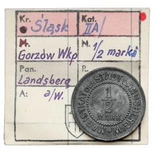 Landsberg a/W (Gorzów Wielkopolski), 1/2 marki bez daty - ex. Kałkowski