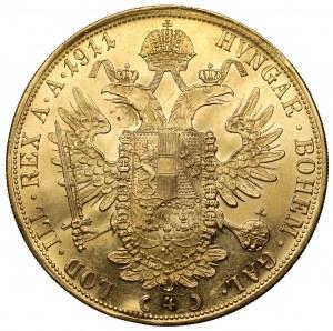 Austria, Franciszek Józef I, 4 dukaty 1911