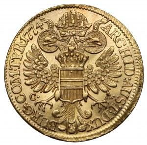 Austria, Maria Teresa, Dukat 1774