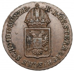 Austria, Franciszek I, 1/2 krajcara 1816-A