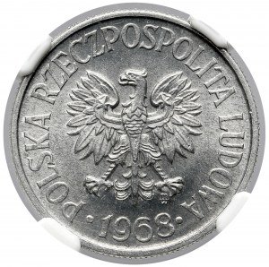 50 groszy 1968 - rzadki rok - menniczy