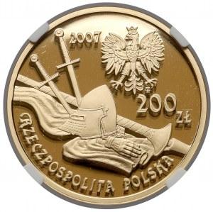 200 złotych 2007 Rycerz Ciężkozbrojny XV w.