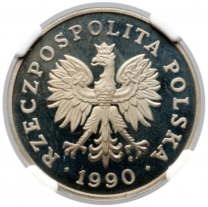 100 złotych 1990 - LUSTRZANKA