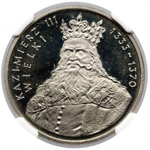 100 złotych 1987 Kazimierz III Wielki - LUSTRZANKA
