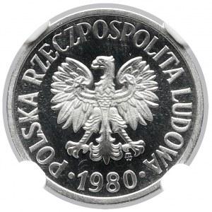 10 groszy 1980 - LUSTRZANKA