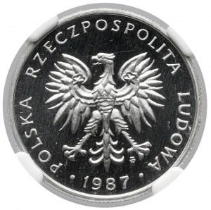 50 groszy 1987 - LUSTRZANKA
