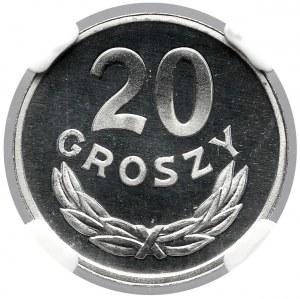20 groszy 1980 - LUSTRZANKA