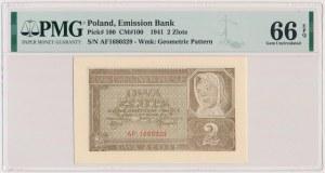 2 złote 1941 - AF