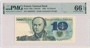 10 złotych 1982 - A