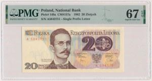 20 złotych 1982 - A