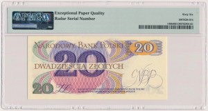 20 złotych 1982 - AA