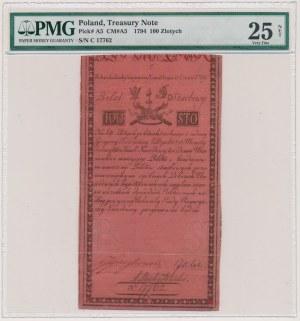 100 złotych 1794 - C