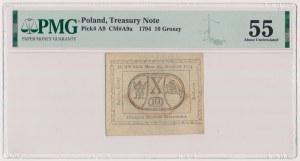 10 groszy 1794