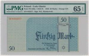 Getto 50 marek 1940