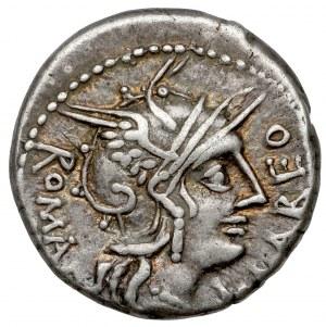 Republika, Q. Fabi Labeo (124 p.n.e.) Denar