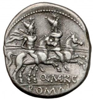 Republika Q. Marcius Libo. (148 p.n.e.) Denar
