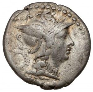 Republika, Servilius M.F. (136 p.n.e.) Denar