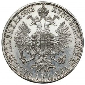 Austria, Franciszek Józef I, Floren 1861-A