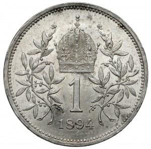 Austria, Franciszek Józef I, 1 korona 1894