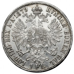 Austria, Franciszek Józef I, Floren 1879