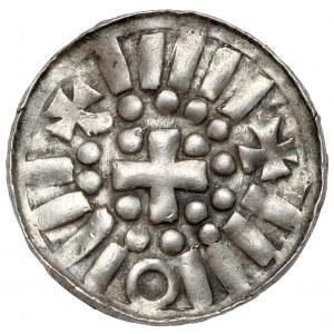 Denar CNP typ I - świątynia / krzyż