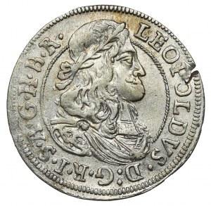 Austria, Leopold I, 3 krajcary 1674 Hall