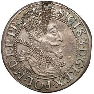 Zygmunt III Waza, Ort Gdańsk 1612 - kropka po