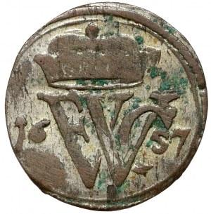 Preussen, Friedrich Wilhelm I, 1 schilling 1657