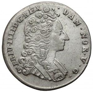 Denmark, Frederick IV, 16 Skilling Dansk 1715