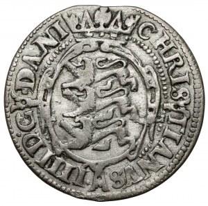 Denmark, Christian IV, 4 Skilling Dansk 1604