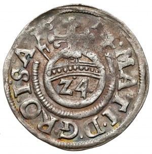 Corvey, Abtei, Dietrich von Beringhausen, 1/24 taler 1614