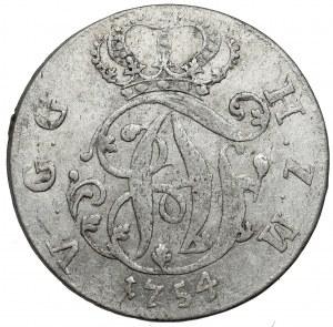 Mecklenburg-Strelitz, Adolf Friedrich IV, 1/6 taler 1754