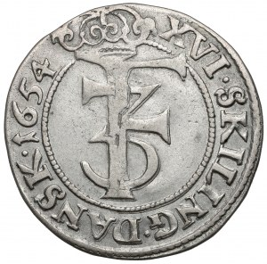 Norway, Frederick III, 16 skilling 1654